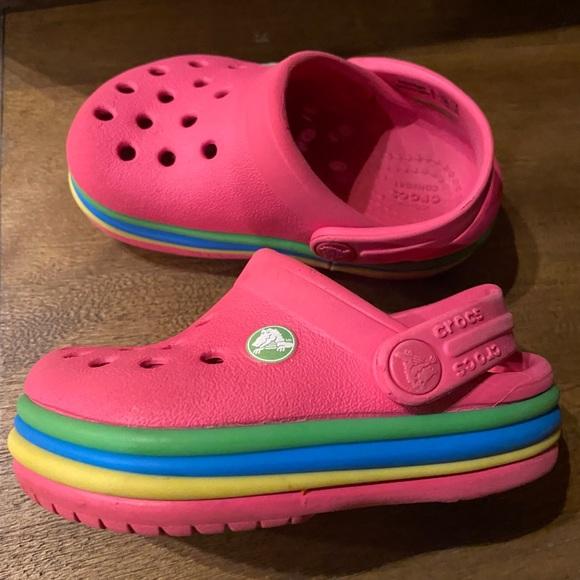CROCS Shoes | Infants Size 5 Pink